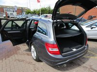 USED 2013 63 MERCEDES-BENZ C CLASS 2.1 C220 CDI BLUEEFFICIENCY AMG SPORT 5d 168 BHP SAT NAV+ELECTRIC BOOT