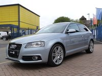USED 2011 11 AUDI A3 2.0 TDI S LINE 3d 138 BHP £30 TAX ~ FULL SERVICE HISTORY ~ COMFORT PACK ~ CRUISE CONTROL ~ BOSE SOUNDS ~ PRIVACY GLASS