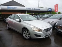 2013 VOLVO S60 1.6 D2 ES NAV 4d AUTO 113 BHP £8999.00