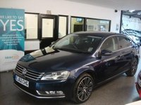 USED 2012 62 VOLKSWAGEN PASSAT 2.0 SPORT TDI BLUEMOTION TECHNOLOGY DSG 4d AUTO 168 BHP Two owners- VW & one private lady, full main dealer service history, October 2018 Mot, Tech pack- Sat Nav, Bluetooth & DAB
