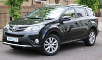 USED 2014 14 TOYOTA RAV4 2.2 D-4D INVINCIBLE 5d 150 BHP 1 Owner - Full Service History - 2 Year Mechanical Warranty - 2 Keys + All Documents Avaialble