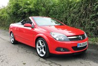 USED 2008 08 VAUXHALL ASTRA 1.9 TWIN TOP AIR 2d 150 BHP, CAM BELT SERVICE DONE, FANTASTIC CONDITION