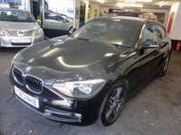 USED 2013 63 BMW 1 SERIES 1.6 116I SPORT 3d 135 BHP What A Cracking Looking Car, Super Sporty Looks And Drive Whilst Having The Versatility Of A Hatchback And Over 60 MPG on The Extra Urban Cycle!