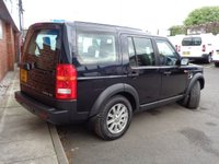 USED 2007 57 LAND ROVER DISCOVERY 3 2.7 3 TDV6 SE 5d AUTO 188 BHP