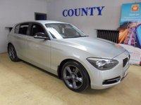 2011 BMW 1 SERIES 2.0 116D SPORT 5d 114 BHP £8995.00