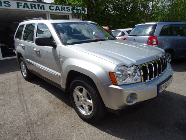 2005 55 JEEP GRAND CHEROKEE 3.0 V6 CRD LIMITED 5d AUTO 215 BHP