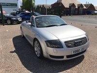 USED 2000 AUDI TT 1.8 ROADSTER QUATTRO 2d 221 BHP 12 Months Mot, Leather Interior, Heated Sets