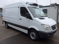 USED 2013 63 MERCEDES-BENZ SPRINTER MERCEDES SPRINTER 313 CDI MWB GAH CHILLER UNIT WITH STANDBY, 2013 63 REG