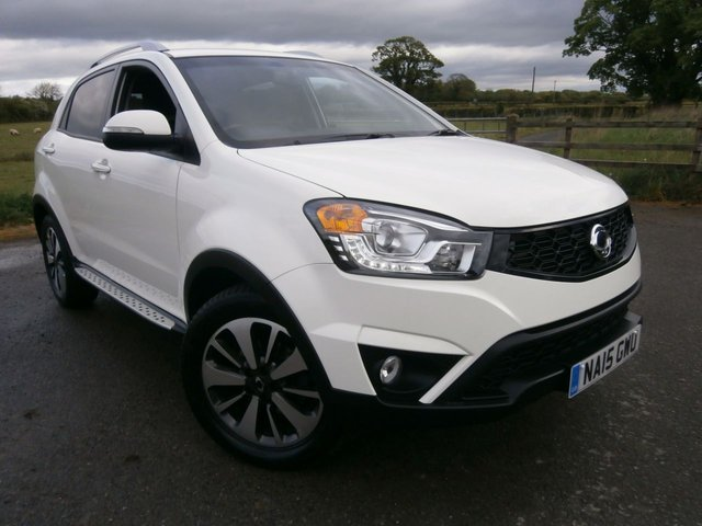 2015 15 SSANGYONG KORANDO 2.0 LIMITED EDITION 5d 147 BHP