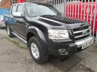 2007 FORD RANGER 2.5 TDCi THUNDER 4x4 Double Cab Puck Up *LEATHER*AIR CON* £7995.00