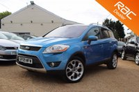 USED 2009 09 FORD KUGA 2.0 TITANIUM TDCI 2WD 5d 134 BHP Sony Stereo, Pan Roof, Heated seats