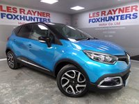 USED 2014 14 RENAULT CAPTUR 1.5 DYNAMIQUE S MEDIANAV ENERGY DCI S/S 5d 90 BHP Full Renault Service History , Free Road Tax , Cruise Control