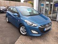2013 HYUNDAI I30 1.6 ACTIVE BLUE DRIVE CRDI 5d 109 BHP £7495.00