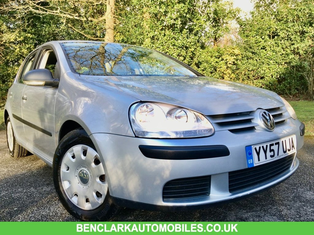 USED 2008 57 VOLKSWAGEN GOLF 1.4 S 5d 79 BHP 2 OWNER/GREAT SERVICE HISTORY /NEW TYRES/CAMBELT/WATERPUMP RENEWED AT 57,199 MILES SOLD BY US IN 2017,, NOW BACK IN AS PART EXCHANGE,,LAST SERVICED @57,199 MILES WITH NEW CAMBELT/ WATERPUMP/ TYRES