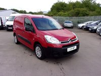 USED 2014 14 CITROEN BERLINGO 1.6 850 ENTERPRISE L1 HDI  90 BHP