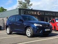 2013 BMW X3 2.0 XDRIVE20D M SPORT 5d 181 BHP £19990.00