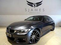 2015 BMW 4 SERIES 3.0 430D M SPORT GRAN COUPE 4d AUTO 255 BHP £23490.00