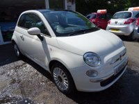 USED 2014 14 FIAT 500 1.2 LOUNGE DUALOGIC 3d AUTO 69 BHP Low Mileage, Full Service History (Fiat + ourselves), MOT until May 2018 (no advisories), One Lady Owner from new, Excellent on fuel! Only £20 Road Tax!