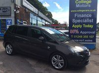 USED 2014 14 VAUXHALL ZAFIRA TOURER 2.0 SRI CDTI 5d AUTO 162 BHP, only 16000 miles ***GREAT FINANCE DEALS....NO PAYMENTS TILL 2018*** .........t&c's apply, subject to status