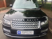 USED 2015 65 LAND ROVER RANGE ROVER 4.4 SDV8 AUTOBIOGRAPHY 5d AUTO 339 BHP