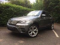 "USED 2010 60 BMW X5 3.0 XDRIVE40D SE 5d AUTO 302 BHP FULL BMW SERVICE HISTORY, PRO NAV, PAN ROOF 20"" ALLOYS, ELECTRIC TAILGATE,"
