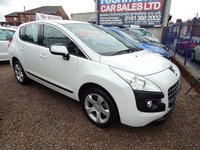 USED 2010 60 PEUGEOT 3008 1.6 SPORT HDI 5d AUTO 112 BHP GREAT ECONOMY, AIRCON, CD,ALLOYS