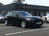 2013 BMW 1 SERIES 1.6 114D ES 5d 94 BHP £9990.00