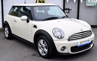 2011 MINI HATCH ONE 1.6 ONE 3d 98 BHP £6500.00