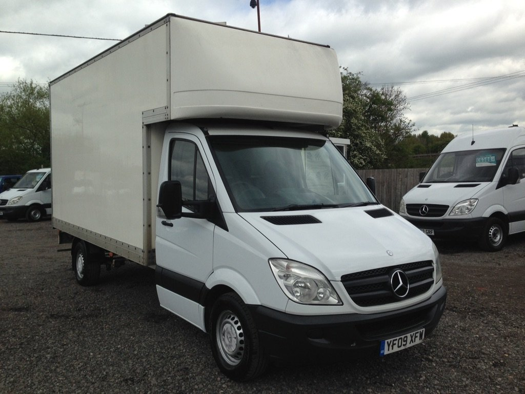 1ea4a970797e2b USED 2009 09 MERCEDES-BENZ SPRINTER 2.1 311CDI Luton 3dr LWB BIG MERCEDES  LUTON