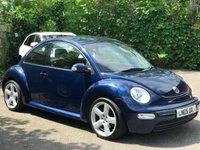 2005 VOLKSWAGEN BEETLE 1.6 8V 3d 101 BHP £1750.00