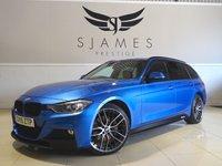 2015 BMW 3 SERIES 3.0 335D XDRIVE M SPORT TOURING 5d AUTO 308 BHP £23990.00