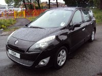 USED 2010 60 RENAULT GRAND SCENIC 1.5 DYNAMIQUE TOMTOM DCI 5d 105BHP SATNAV+SD CARD+FSH+5STAMPS+CD+