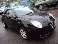 USED 2009 59 ALFA ROMEO MITO 1.4 LUSSO 16V 3d 95BHP  ALLOYS+AIRCON+CD+PAS+ELECTRICS