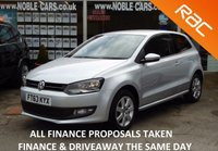 USED 2013 63 VOLKSWAGEN POLO 1.2 MATCH EDITION TDI 3d 74 BHP