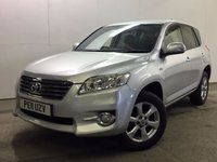 USED 2011 11 TOYOTA RAV4 2.2 XT-R D-CAT 5d AUTO 150 BHP 4WD FACELIFT LEATHER PRIVACY ONE OWNER FSH 4WD. FACELIFT MODEL. STUNNING SILVER MET WITH PART BLACK LEATHER TRIM. ELECTRIC HEATED SEATS. CRUISE CONTROL. 17 INCH ALLOYS. COLOUR CODED TRIMS. PRIVACY GLASS. PARKING SENSORS. BLUETOOTH PREP. CLIMATE CONTROL. R/CD PLAYER. PADDLESHIFT AUTO. MFSW. MOT 03/18. ONE OWNER FROM NEW. SERVICE HISTORY. PRISTINE CONDITION. FCA FINANCE APPROVED DEALER. TEL 01937 849492.