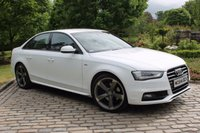 2015 AUDI A4 2.0 TDI S LINE BLACK EDITION 4d 174 BHP £17650.00