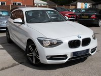2012 BMW 1 SERIES 1.6 114I SPORT 3d 101 BHP very insurable 1 series  £10295.00