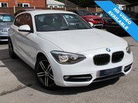 USED 2012 62 BMW 1 SERIES 1.6 114I SPORT 3d 101 BHP very insurable 1 series