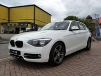 2012 BMW 1 SERIES 2.0 116D SPORT 5d  £SOLD
