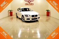 USED 2015 64 BMW 1 SERIES 2.0 118D M SPORT 5d AUTO 141 BHP + 1 PREV OWNER + SERVICE HISTORY + RAC APPROVED DEALER
