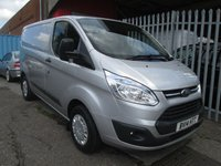2014 FORD TRANSIT CUSTOM 270 TREND L1 SWB 100PS *CRUISE*BLUETOOTH* £11995.00