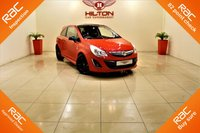 USED 2012 62 VAUXHALL CORSA 1.2 LIMITED EDITION 3d 83 BHP + 1  OWNER FROM NEW ++ FULL SERVICE HISTORY