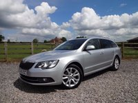 USED 2015 SKODA SUPERB  2.0 TDI SE Business 5dr PAN ROOF + LEATHER + NAV + ONE OWNER FROM NEW