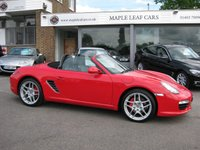 USED 2009 59 PORSCHE BOXSTER 3.4 24V S 2d 310 BHP Low Mileage One owner Full Porsche History