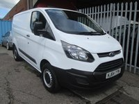 2014 FORD TRANSIT CUSTOM 290 L1 SWB 2.2 TDCi 100PS *ONE OWNER*41000 MILES* £10495.00