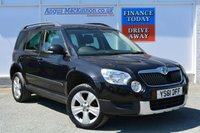 USED 2012 61 SKODA YETI 2.0 SE TDI CR 5d 109 BHP ONLY 2 PREVIOUS OWNERS