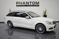 USED 2011 61 MERCEDES-BENZ C CLASS 2.1 C200 CDI BLUEEFFICIENCY SE EDITION 125 5d 136 BHP