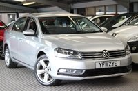 USED 2011 11 VOLKSWAGEN PASSAT 2.0 SE TDI BLUEMOTION TECHNOLOGY 4d 139 BHP