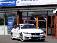 USED 2015 15 BMW 4 SERIES 420D M SPORT 2dr AUTO (190) * Pro Nav & Leather *