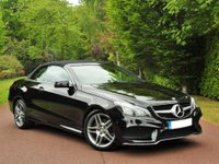 USED 2015 65 MERCEDES-BENZ E CLASS 2.1 E220 CDI BlueTEC AMG Line Cabriolet 7G-Tronic Plus 2dr (start/stop) BEST COLOUR COMBO+MEGA SPEC+LOW MILES+ MANUFACTURES WARRANTY JUST SERVICED BEST FINANCE RATES AVAILABLE READY TO DRIVEAWAY GREAT EXAMPLE LOW MILES FU